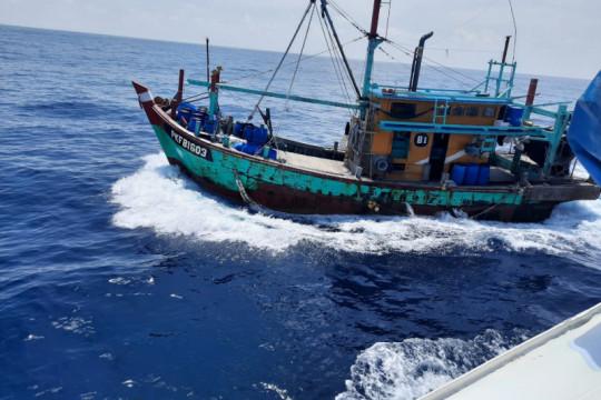 KKP tangkap 125 kapal ikan selama 2021