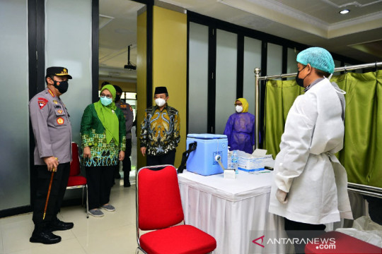Polri gandeng Muhammadiyah percepat vaksinasi COVID-19 nasional