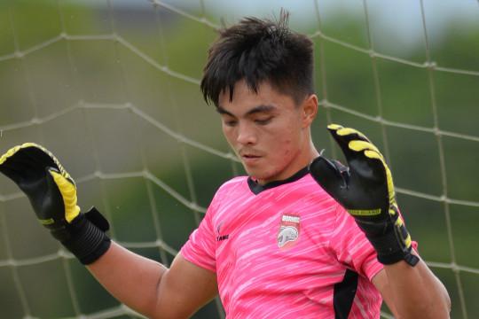 Kiper Borneo FC Gianluca tak ingin kompetisi tertunda lagi