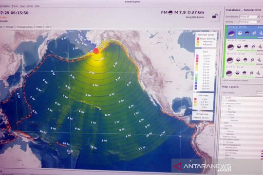 BMKG: Gempa di Alaska tidak berdampak signifikan ke wilayah Indonesia