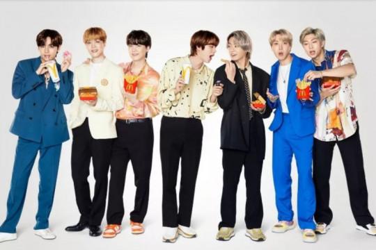 BTS dongkrak penjualan McD di seluruh dunia