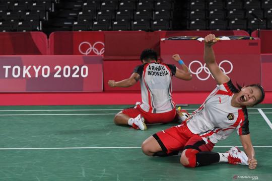 Greysia-Apriyani lolos ke semifinal ganda putri bulutangkis Olimpiade Tokyo 2020