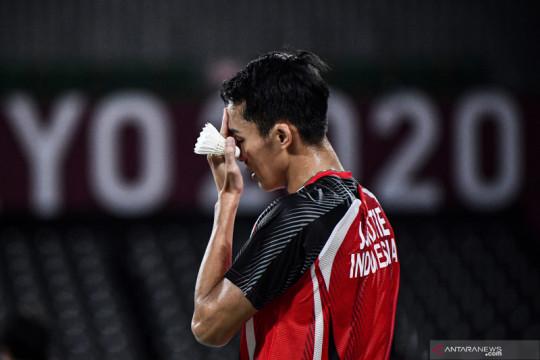Jonatan dikandaskan Shi Yu Qi di 16 besar tunggal putra Olimpiade