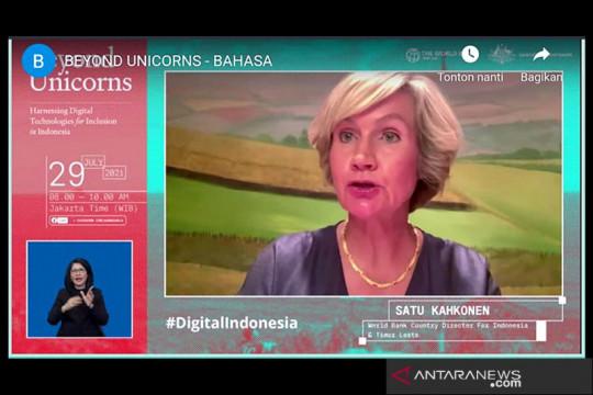 Bank Dunia: Digitalisasi menjadi harapan Indonesia di tengah COVID-19