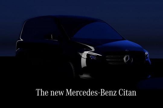 Mercedes-Benz rilis van kecil listrik bulan depan
