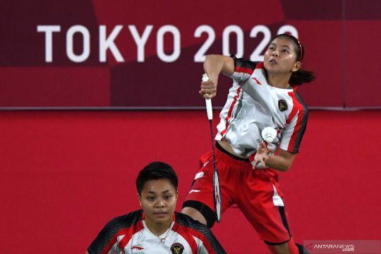 Bulutangkis Olimpiade Tokyo 2020 : Greysia/Apriyani lawan ganda putri China