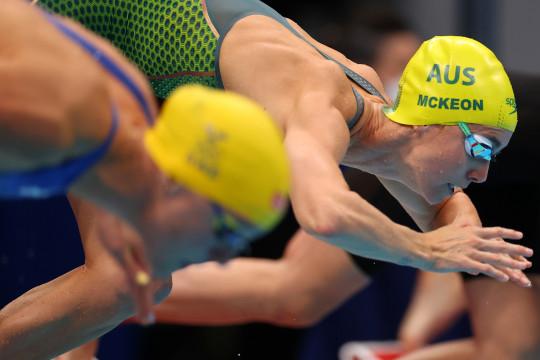 McKeon cetak sejarah saat Australia juara 4x100m estafer gaya ganti