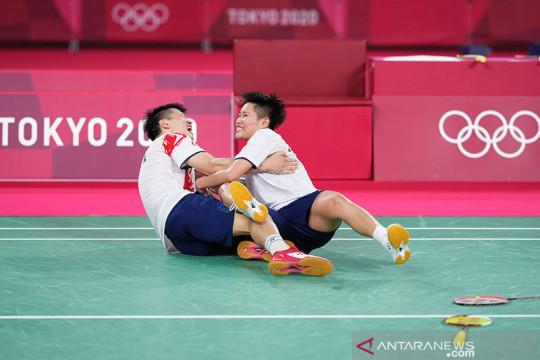 Ganda campuran Wang/Huang raih emas bulu tangkis dalam all-China final