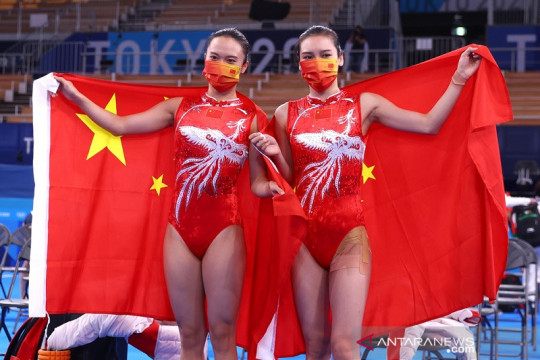 Klasemen perolehan medali Olimpiade Tokyo: China mantapkan puncak