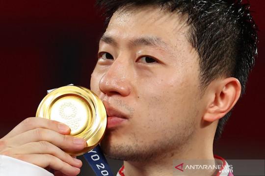 Dominasi Ma Long dan China di tenis meja tunggal putra berlanjut