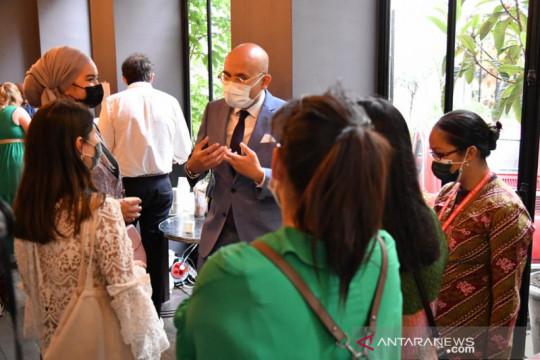 Pengusaha Prancis didorong belanja produk kreatif Indonesia