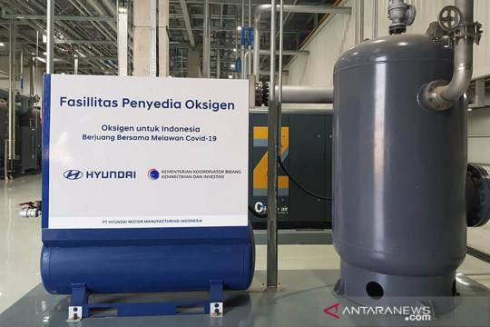 Luhut apresiasi Hyundai bangun fasilitas produksi oksigen di Indonesia
