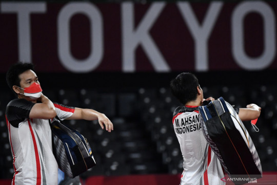 Olimpiade Tokyo: Mohammad Ahsan/Hendra Setiawan gagal ke final