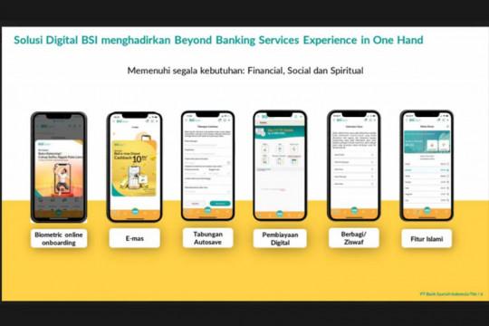 """Pengguna BSI """"mobile banking"""" tembus 2,5 juta"""