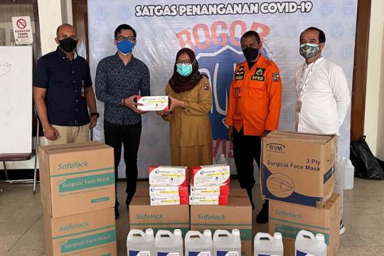 Dompet digital DANA beri bantuan alat kesehatan untuk Kota Bogor