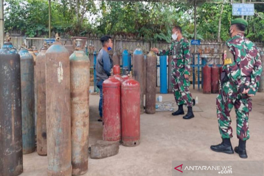 Kodim 0913/Penajam pastikan ketersediaan oksigen untuk keperluan medis