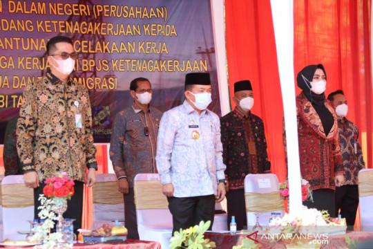 Gubernur berharap perusahaan di Jambi tingkatkan pemagangan