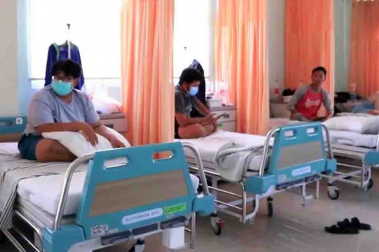 Warga Kota Tangerang diimbau jalani isoman di fasilitas kesehatan