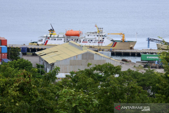 Dishub: Layanan tol laut Surabaya-NTT-Marauke tingkatkan perdagangan