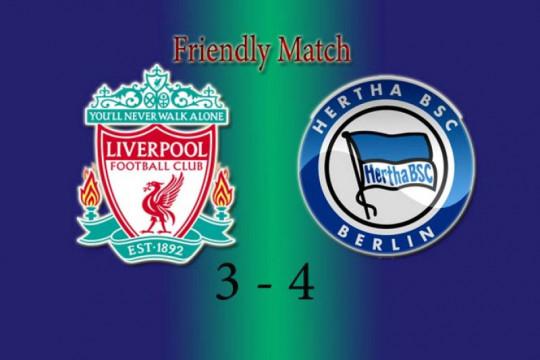 Van Dijk kembali bermain saat Liverpool takluk 3-4 kepada Hertha