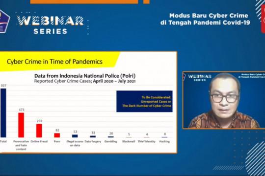 Dosen Kriminolog UI: Kejahatan siber marak pada masa pandemi