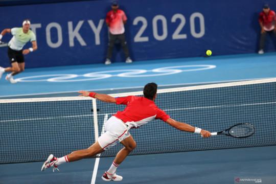 Zverev akhiri asa Golden Slam Djokovic di Olimpiade Tokyo