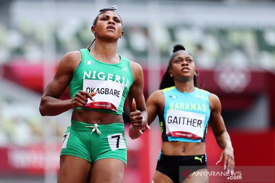 Gagal tes zat terlarang, sprinter Okaghare terdepak dari Olimpiade