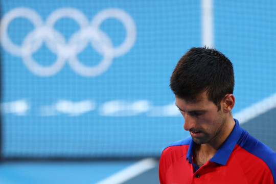 Djokovic pulang tanpa medali setelah mundur dari ganda campuran