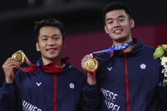 Lee/Wang sabet medali emas pertama bulu tangkis bagi Taiwan