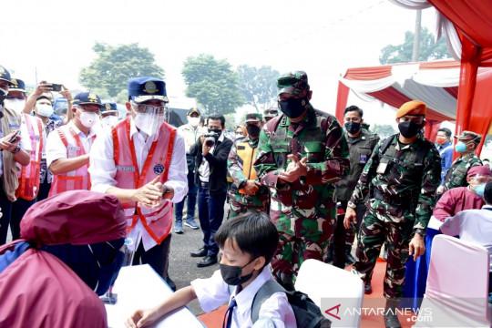 Kasau sebut TNI AU siap terus berkolaborasi penuhi target vaksinasi