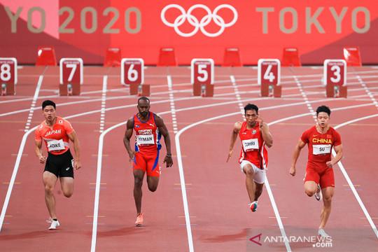 Lalu Muhammad Zohri finis kelima dengan catatan waktu 10,26 detik