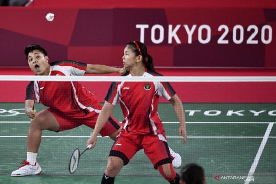 Greysia/Apriyani bantu Indonesia imbangi sementara Denmark 2-2
