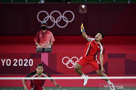 Greysia/Apriyani tembus ke final Olimpiade Tokyo