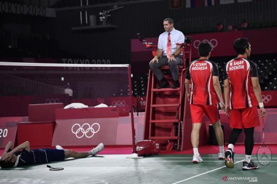 Ahsan/Hendra gagal raih medali perunggu Olimpiade Tokyo 2020