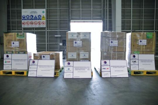 RI terima bantuan penanganan COVID dari sejumlah perusahana swasta