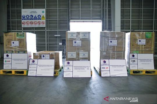 RI terima bantuan penanganan COVID dari sejumlah perusahaan swasta