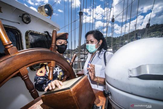 Open ship KRI Bima Suci di Labuan Bajo
