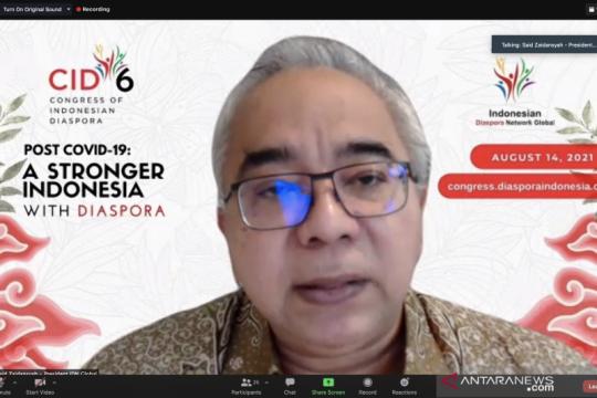 Kongres diaspora Indonesia fokus pada pemulihan pasca pandemi