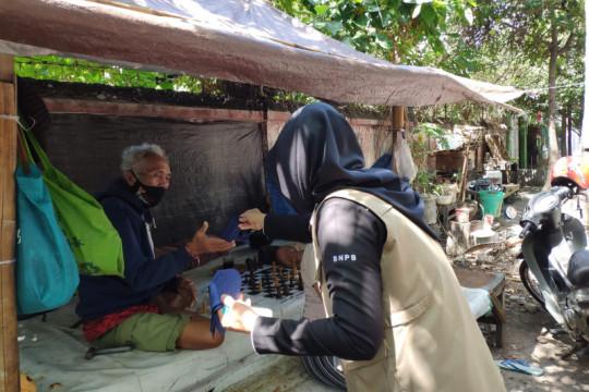 BNPB lakukan pemantauan PPKM dan bagikan 50.000 masker