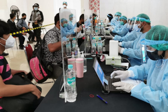 54.227 orang ikuti vaksinasi Sinar Mas Land bersama pemerintah