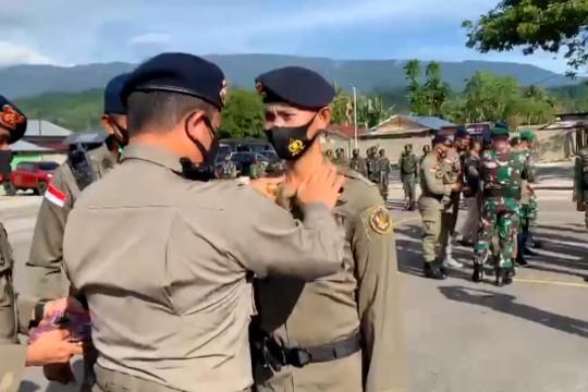 65 personel Polri pemburu teroris di Poso naik pangkat di Hari Bhayangkara