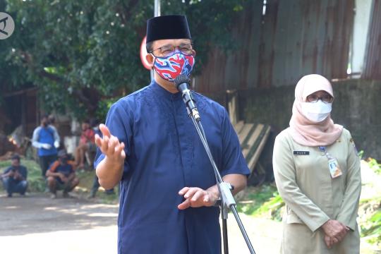 Soal masjid yang gelar shalat Id, Anies ingatkan RS penuh