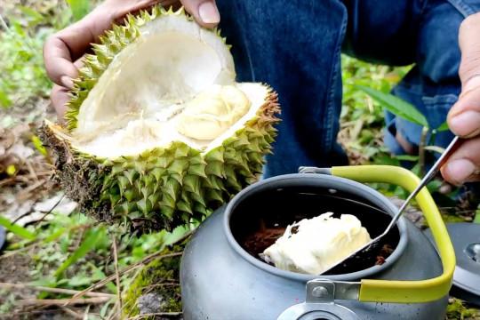 Kopi durian, cara lain menikmati buah durian
