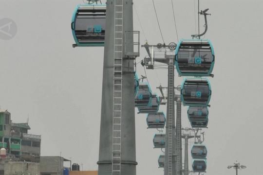 Mexico City luncurkan transportasi kereta gantung