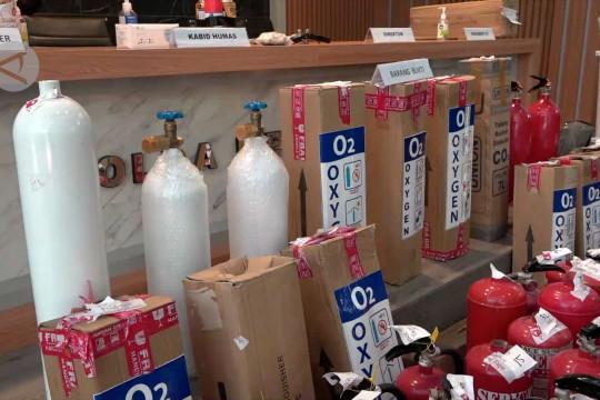 Polda Metro Jaya ungkap pemalsuan tabung oksigen dari APAR