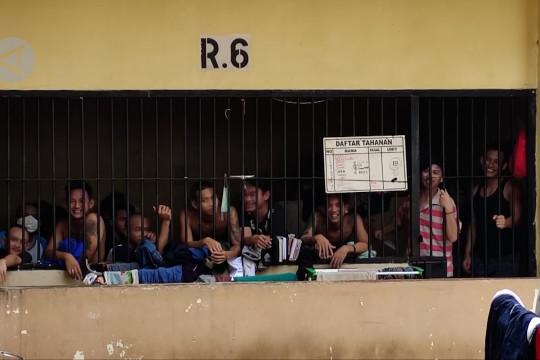 Ruang tahanan Mapolrestabes Semarang kelebihan kapasitas selama pandemi