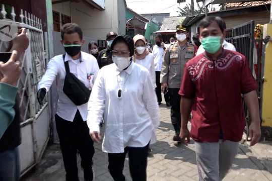 Mensos sidak penyaluran bansos di Tangerang