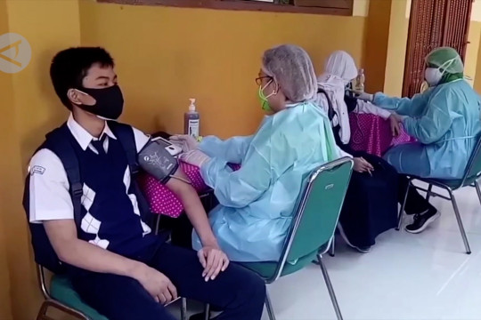 Vaksinasi jadi upaya pemerintah lindungi anak Indonesia
