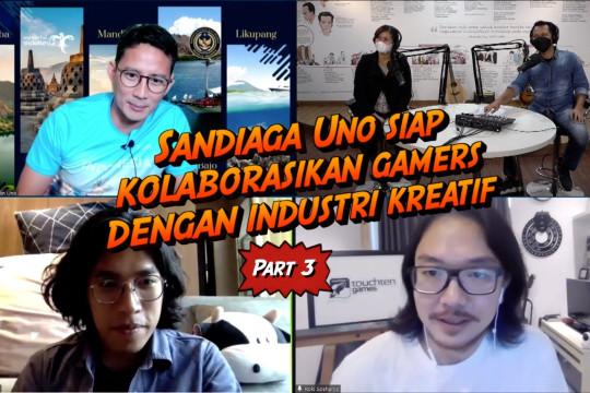 BeRISIK - Jurus Sandiaga mengubah tantangan jadi peluang para gamers (3 dari 3)