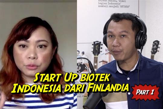 Cerita dari Selatan - Resistomap, start up antibiotik dari Indonesia untuk dunia (bagian 1 dari 3)